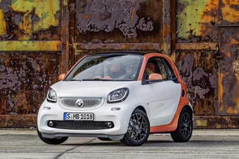Car of the Year 2015 - Smart ForTwo candidate Car of the Year 2015 award