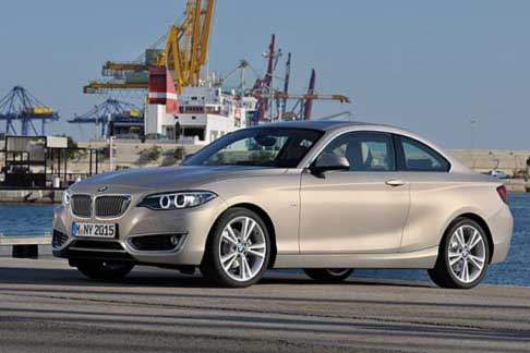 Car of the Year 2015 - BMW 2 Series Coupé candidate Car of the Year 2015 award
