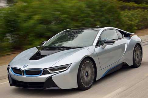 Car of the Year 2015 - BMW i8 electric vehicle candidate Car of the Year 2015 award