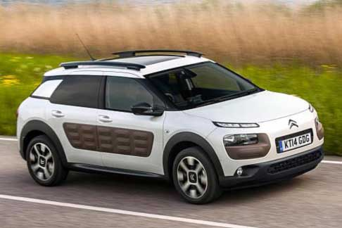 Car of the Year 2015 - Citroen C4 Cactus candidate Car of the Year 2015 award