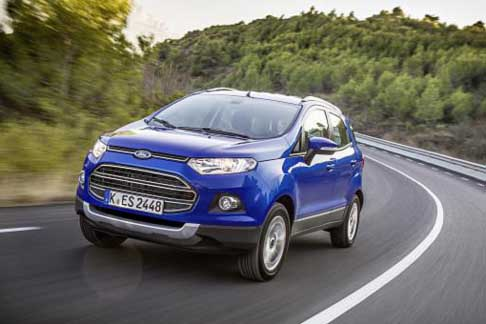 Car of the Year 2015 - Ford Eco Sport candidate Car of the Year 2015 award