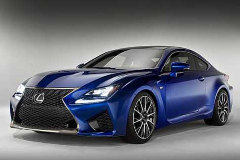Car of the Year 2015 - Lexus RC candidate Car of the Year 2015 award