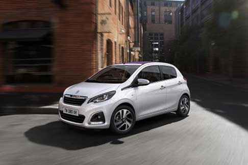 Car of the Year 2015 - Peugeot 108 candidate Car of the Year 2015 award