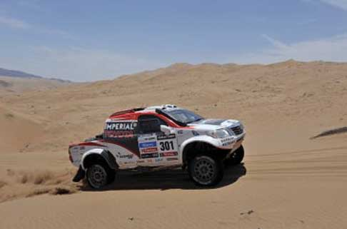 Rally Raid - Dakar 2014 categoria cars pick-up Toyota tappa Rosario - San Luis