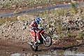 Israel Esquere Jeremias on bike Honda, action during the Dakar 2015 - 3° stage