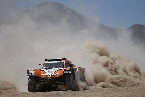 Copiapo - Antofagasta  - Chabot Ronan on Buggy SMG action during the Dakar 2015