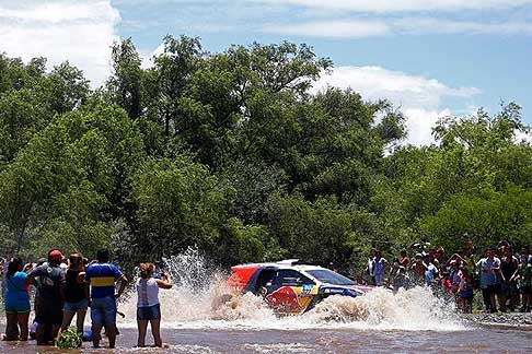 Termas de Rio Hondo - Rosario - DESPRES Cyril and PICARD gilles on Peugeot 2008 DKR action during the Dakar 2015