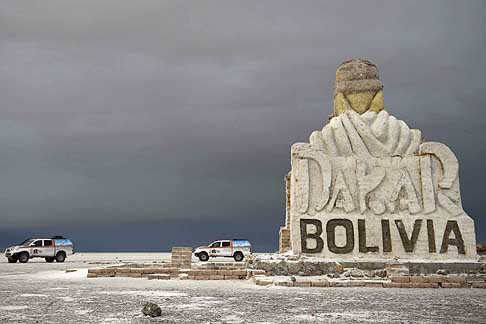 Rally Raid - Dakar 2015 toccherà anche la Bolivia - photo Getty Images