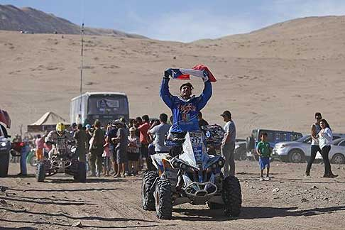 Chilecito a Copiato - Darar 2015 Vinet Ricardo cileno su Quad Can Am, IV stage