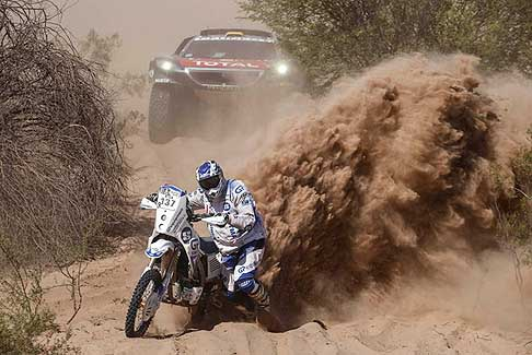 Anello di Belen Dakar 2016 - Bike, Toby Price rafforza la leadership