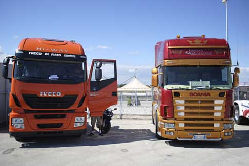 Levante Tuning Day - Camion Iveco e Truck Scania all´Autodromo del Levante a Binetto
