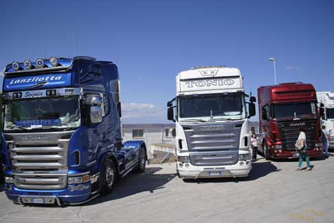 Levante Tuning Day - Camion Scania R620 e R580 all´Autodromo del Levante