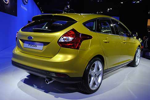 Ford - Retro vettura Ford Focus