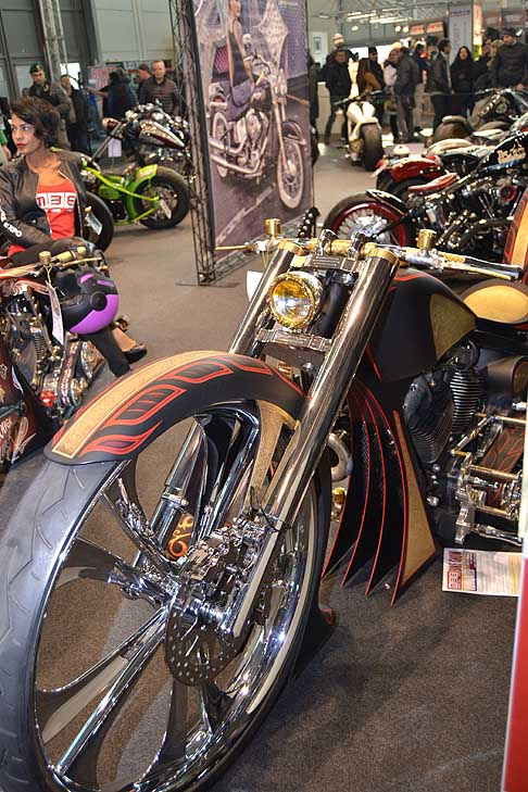 Moto Bike Verona - Best of show premiata la Harley Davidson Fat Boy del 2004 al Motor Bike Verona 2016