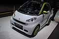 Smart ED Electric Drive al salone di Parigi