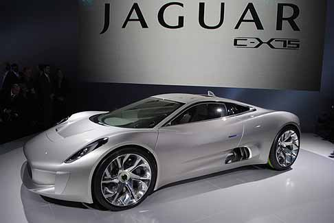 Jaguar - Jaguar C-X75 supersportiva