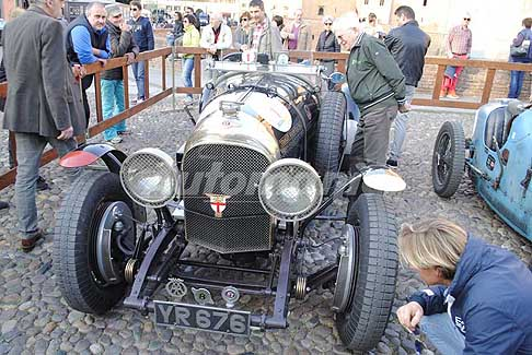 Auto d´Epoca - Bentley Speed Model del 1926 a Ferrara, evento auto storiche Valli e Nebbie 2017