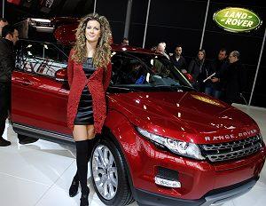 La nuova Range Rover Evoque 5 al Motor Show di Bologna